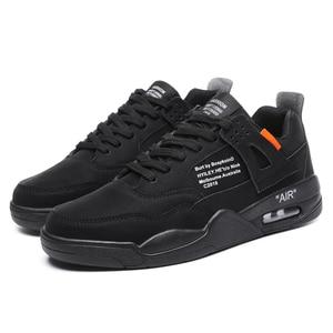 Image 4 - Zapatillas de correr para hombre ligeras y transpirables, cómodas e informales, antideslizantes, resistentes al desgaste, con aumento de altura de 3CM, gran oferta