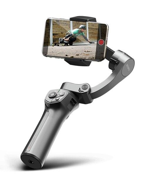 Benro Faltbare Drei Achsen Handy Stabilisator P1 P1S Smartphone Handheld Gimbal Stabilisator Für Gopro iPhone Huawei XiaoMi