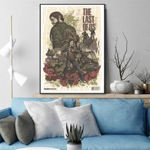 The Last of Us Silk Fabric Poster Print 12x18 24x36 inches Hot Game Wall Pitcures Home Room Decor(China)