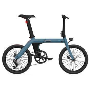 FIIDO-Bicicleta eléctrica plegable de 7 velocidades, 20 pulgadas, D11