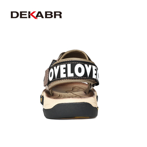 Image 3 - DEKABR Spring Summer Men Sandals Top Quality Casual Shoes Man Quality Design Outdoor Beach Sandals Roman Style Water Sneakers