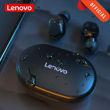 Lenovo Original XT91 bezprzewodowe słuchawki Bluetooth AI Control zestaw słuchawkowy do gier Stereo bass z mikrofonem redukcja szumów TWS słuchawki