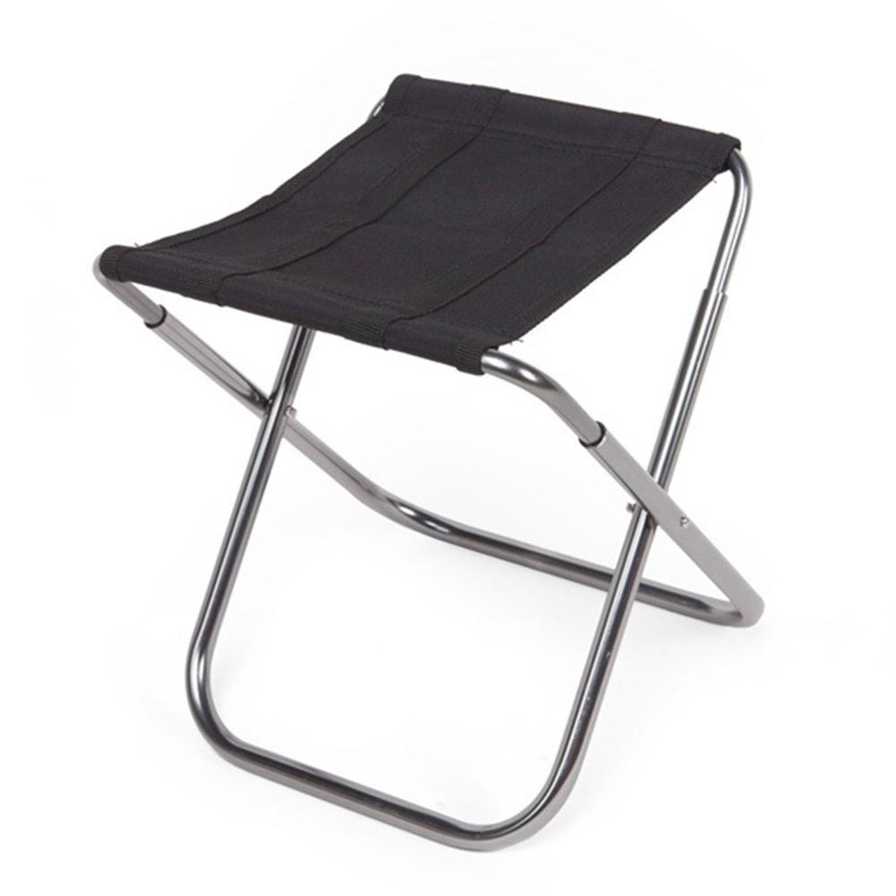 Folding Chair Portable Ultra Light Aluminum Alloy Back Fishing Chair Folding Stool Mazar Portable Back Folding Chair Stool