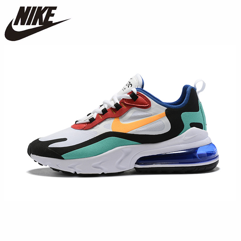 NIKE AIR MAX 270 RT (PS) Kids Shoes Original Parent-child Running Shoes Gym Sports Men Sneakers #BQ0102