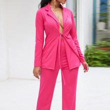 Nice Spring Autumn Office Women Work Suit Set Office Lady Se