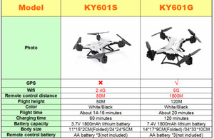 Image 5 - KY601G/KY601S GPS Drone 4K 5G WIFI FPV RC Helicopter distance 2000 Meters Professional Quadcopter VS SG907 L109 For boy XMAS