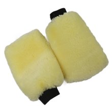 1PC Car Wash Wool Gloves Wool Velvet Waxing Thick Double-Sided Gloves Car Cleaning Tools Cleaning Supplies