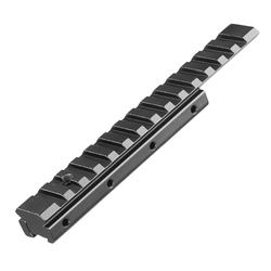 Milano ampliar Weaver adaptador de riel Picatinny 11mm a 20mm-22mm Extensible táctica alcance Bases extender montaje