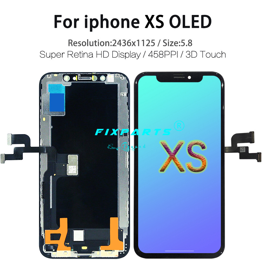 iPhone XS XR X XS MAX LCD Display Screen Digitizer Assembly