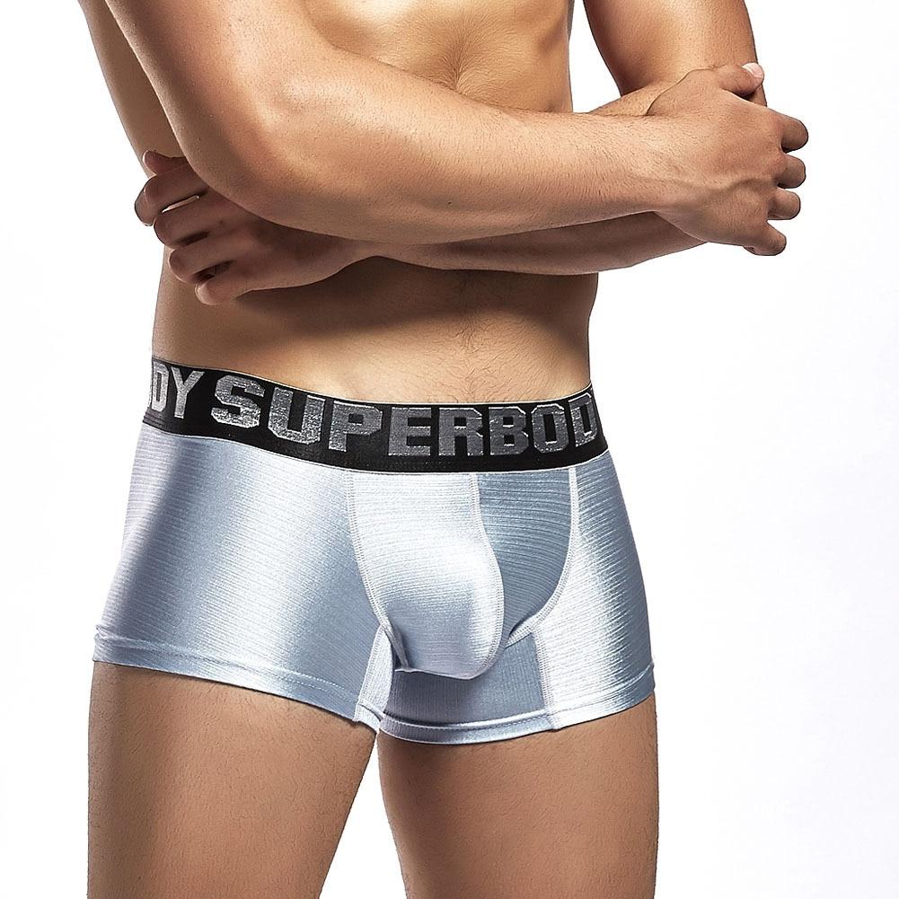 Underwear Men Boxer Underwear Cueca Masculina Sexy Tight Panties Men  Calsones Homme U Convex Penis Pouch Boxer De  Marca