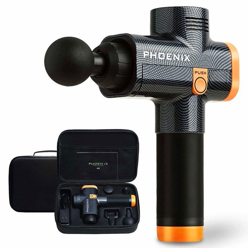 Phoenix A2 Muscle Massage Gun Deep Tissue Massager Therapy Gun Exercising Muscle Pain Relief  Weight Loss Expert
