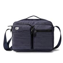 2019 New Fashion Casual Small Shoulder Bag Men Messenger Bag for Male High Quality Classic Zipper Nylon Travel Crossbody Bags недорого