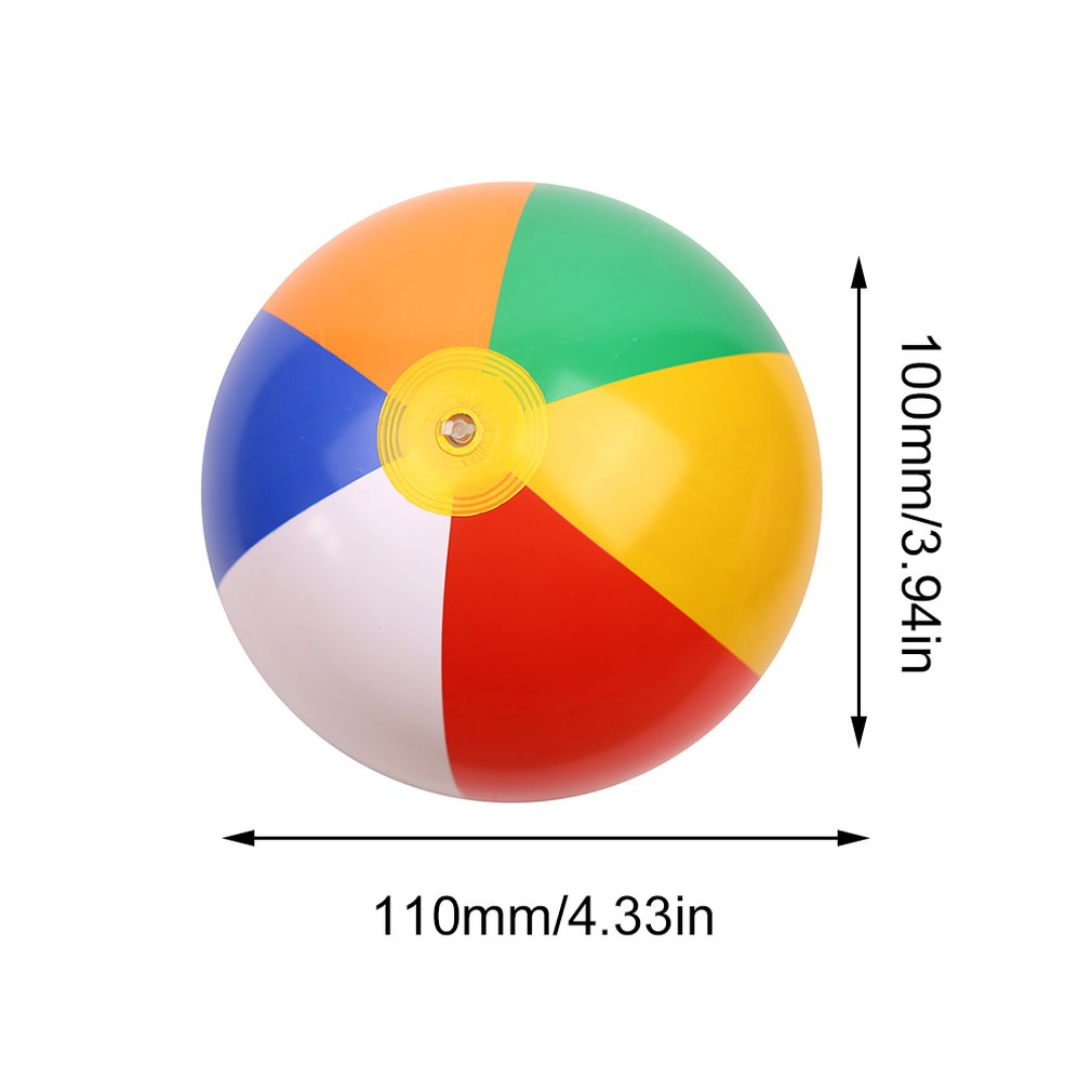 Inflatable Beach Ball Portable Inflator Water Balloon Summer Outdoor Beach Swimming Toy Pumping tool Accessories
