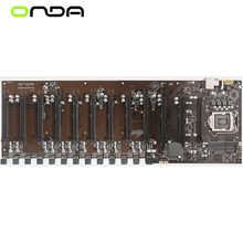 NWE 12GPU 12PCIE 12Video per scheda madre Onda B250 D12P D3 Intel B250 Socket LGA 1151 DDR3L scheda madre Desktop originale
