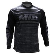 Футболка для мотокросса быстросохнущая рубашка с длинным рукавом