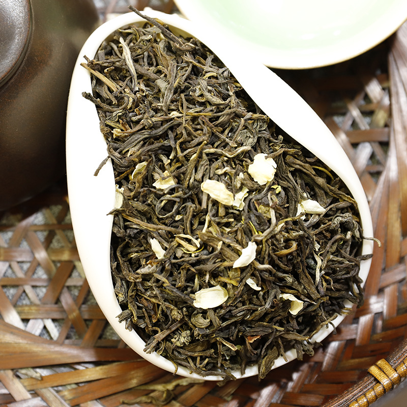 2021 China Jasmine Flower Green Tea Real Organic New Early Spring Jasmine Tea for Loss Weight Green Food Housewares