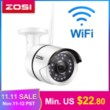 ZOSI Ip-Camera Wifi Security-Video Night-Vision Outdoor Onvif Infrared Weatherproof 1080P