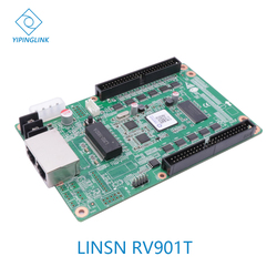 LINSN full color receiver card led video wall led screen controller RV901T control card