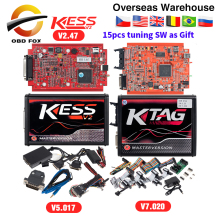 KESS V2 V5.017 полный онлайн V2.47 менеджер Тюнинг Комплект KTAG V7.020 4 светодиодный мастер K-tag V2.25 KESS BDM Титан Winols Электронный блок управления программатором
