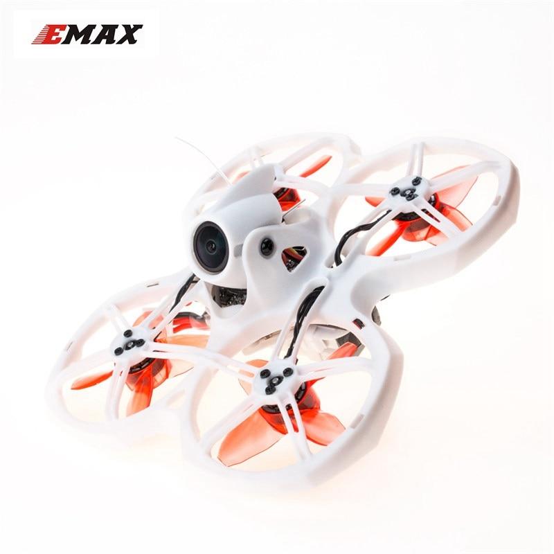 EMAX Tinyhawk II 75mm 1-2S Whoop RunCam 2 1/3″ 700TVL FrSky D8 4-in-1 5A BlHeli_S ESC FPV Racing RC Drone Quadcopter BNF
