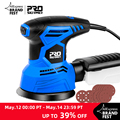 300W Random Orbital Electric Sander Machine with 21Pcs 125mm Sandpapers 120V/240V Strong Dust Collection Polisher by PROSTORMER