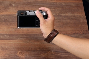 Image 5 - 소니/Leica/Olympus/Panasonic/Fuji 용 빈티지 정품 가죽 카메라 스트랩 그립 미러리스 디지털 카메라 끈 손목 스트랩