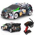 K989 RC Auto 1:28 2.4G 4WD Spazzolato di Guida Auto Sportive drive Trasformazione Telecomando Modelli di Auto RC Combattimento Giocattolo regalo