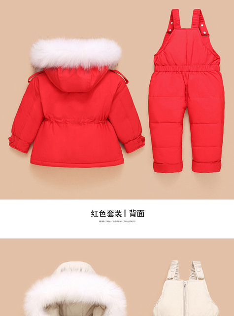 Toddler Down Coat and Pants 6