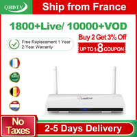 Leadcool QHDTV Arabic France IPTV 1 Year IPTV Subscription Android Rk3229 QHDTV Code IPTV Belgium Netherlands France IP TV Box
