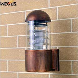 Zewnętrzna wodoodporna ściana lampy  nowoczesna prosta nocna łazienka balkon korytarz zewnętrzna kinkiet  HDS-20-3/4