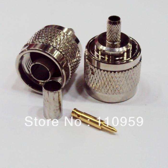 DHL/EMS RF Connector NC-3 (50 Ohm) To Match The 1.5 Coaxial Cable N Scalp Acupuncture-A2
