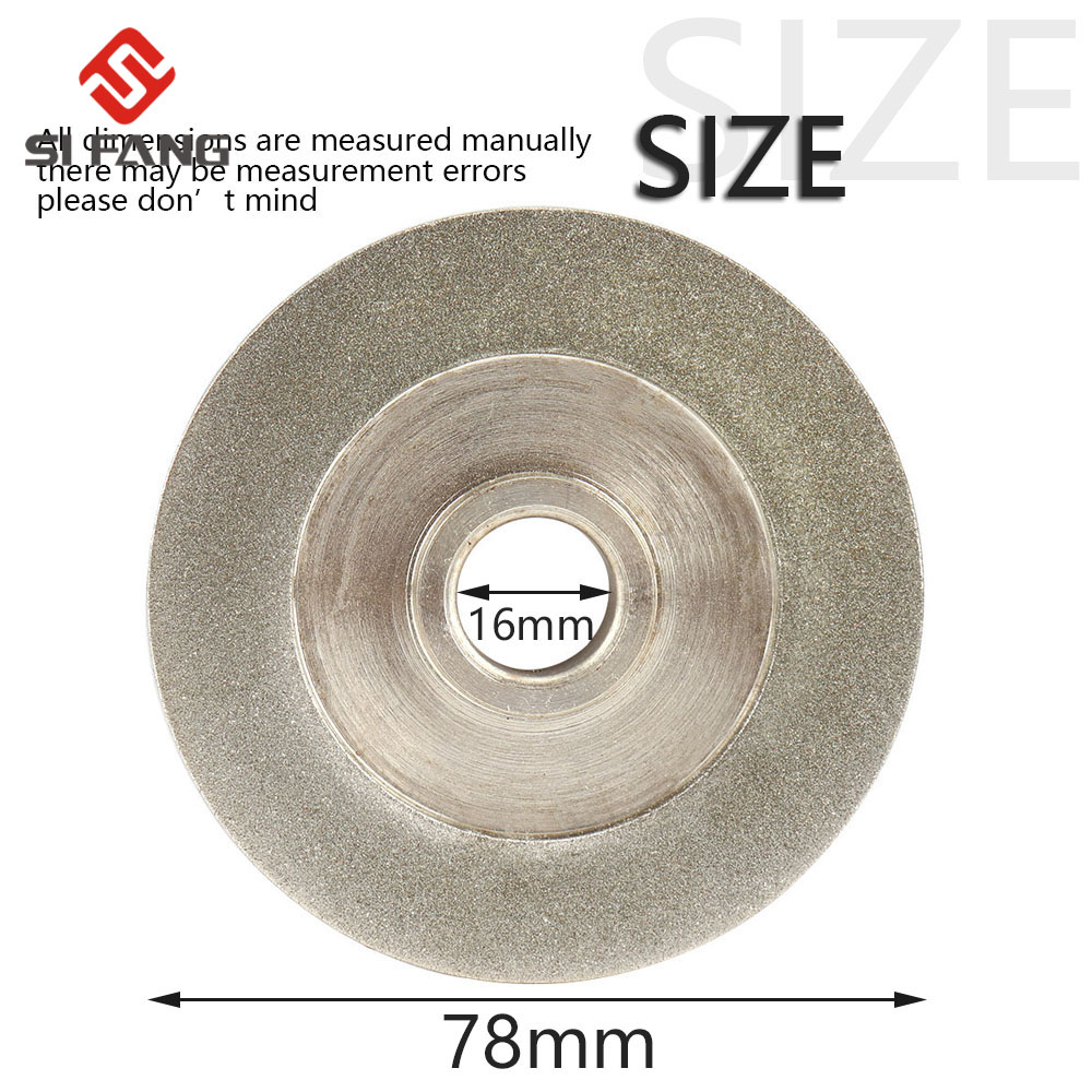 Image 3 - 78mm electroplating Diamond Grinding Wheel 45 Degree Angle Cutter Grinder Grinding Disc for Grinding Abrasive Cutting Tool  GriAbrasive Tools   -