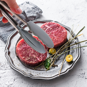 Image 5 - Silicone Cooking Utensils Kitchen Utensil Set   Non stick Spatula Shovel Natural Acacia Wooden Handle Kitchen Tools