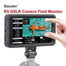 Besview Desview R5 Monitor 4K de 5,5 pulgadas cámara DSLR 3D LUT pantalla táctil HDMI Cámara Monitor de campo para cámara DSLR