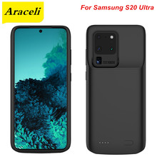 Araceli 6000 Mah For Samsung S20 Ultra Battery Case Smart Phone Battery Cover Power Bank For samsung S20 Ultra Charger Case(China)