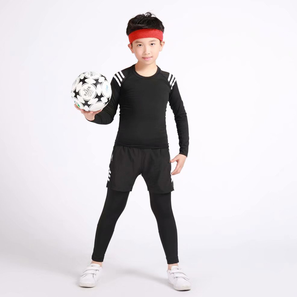1x Charcoal Full Sleeve, 7-8 Year 1x Unisex Children Kids Thermal Underwear Long Sleeve T-Shirt Top Warm Vest