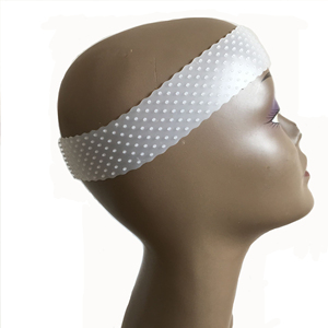 silicone wig band Elastic wig headband for wear lace wig drop-shaped Non Slips Wig Grip hair Band sports yoga headband