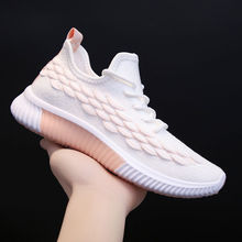 Women Flyknit Sneakers Running Shoes Women