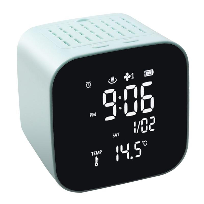 USB Anhydrous Essential Oil Diffuser Machine Clock Alarm Clock Perpetual Calendar Thermometer Air Purifier