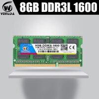 Ram ddr3l da memória de veineda 4gb ddr3l 1333 mhz para todo o portátil de intel amd 4gb ddr3l sodimm 1066 1600 mhz 1.5 v PC3L-12800 204pin NO-ECC