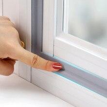 Tragbare Tür Fenster Abdichtung Streifen Pu schaum Klebeband Wasserdichte Staubdicht Dichtband Sound Isolierung Werkzeuge