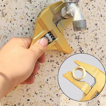 Wielofunkcyjny hydraulik klucz do naprawy klucz nastawny krótki trzonek duży haczyk łazienka klucz klucz PR sprzedaż tanie i dobre opinie Aleekit CN (pochodzenie) Other Wrench