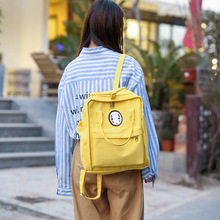 2019 New Women Backpack Printing Bag for Women Big Laptop School Backpack for College Student Travel Bag Mochila 2018 Yellow