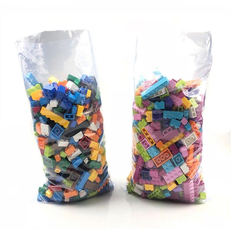 1000 Pcs Tijolos para Construção Blocos da Cidade DIY Tijolos Criativo Massa Modelo Figuras Blocos Educacionais Brinquedos para Crianças Compatíveis com
