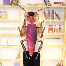35-75 cm new analog cockroach 3D insect plush toy soft stuffed plush pillow mischievous toy gift WJ276 minocool simulation cockroach plush toy insect stuffed plush animals cockroach soft pillow toys children nursery girl gifts