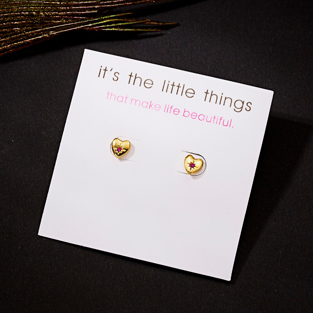 12 Pairs/set Stud Earrings Set With Card Transparent Zircon Balls Love Flowers Earrings Women Imulated Pearl Earrings Jewelry 90