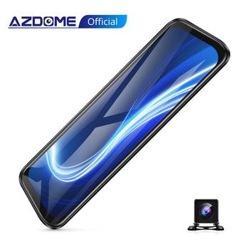 AZDOME Mirror Dash Cam Front and Rear Dual Dash Camera for Cars 10
