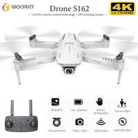 S162 Drone Gps 4k Hd 1080p 5g Wifi Fpv Quadcopter Flight 20 Minutes Rc Distance 500m One Click Return Drone Vs E520s