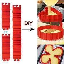 4 шт/компл силиконовая посуда для выпечки волшебная форма торта