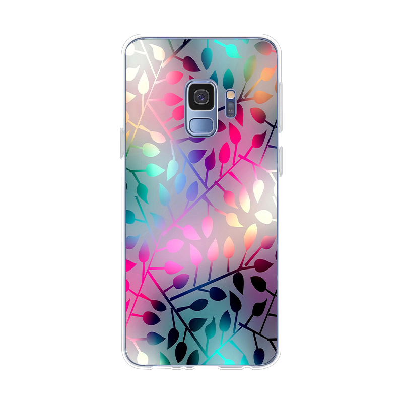 Color Art Pattern Coque For Samsung Galaxy S9 S8 S7 S6 S10 S10e S10+ Edge Plus Mini Phone Case Cover Soft TPU Fundas